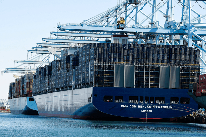 about us container ship