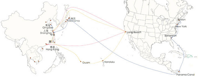 shipping-route-america