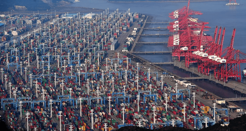 actual cost container yard